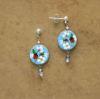 Insect Jewelry | Ladybug Earrings | Posts