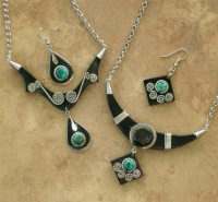 Carved Horn Jewelry Sets | Wholesale Assortment 8 Pack