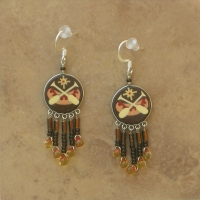 Lodge | Canoe Paddles Earrings | Hooks
