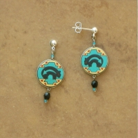 Lodge | Native Black Bears Earrings | Posts