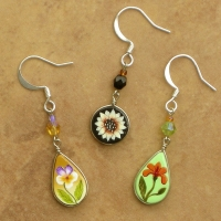 Mini Flower Earrings | Assorted Wholesale 12 Pack | Mini