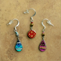 Small Peruvian Earrings | Wholesale Assorted | 12 Pack