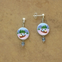 Lodge | Canoeing Trip Earrings | Posts