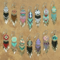 Peru Western Earrings | Wholesale Assorted 12 Pack