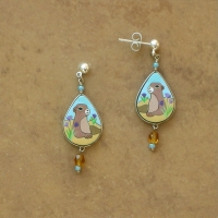 SALE Animal Jewelry | Prairie Dog Earrings | Posts