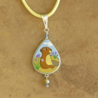 Animal Jewelry | Children's Prairie Dog Necklace