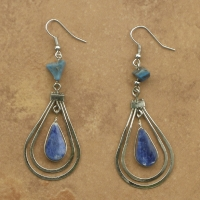 Semi Precious Stone Earrings | Inca Tears