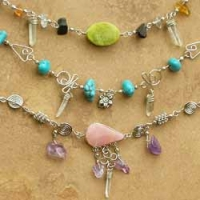 Stone Anklets/SALE