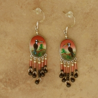 SALE Wildlife Jewelry | Toucan Earrings | Hooks